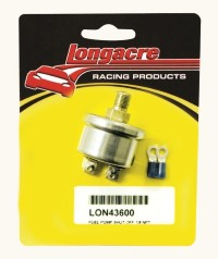 "Longacre Part Number 43600: Fuel Pump Shut Off 1/8"" NPT"