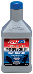 Amsoil sae 10w 40 synthetic motorcycle oil for 10w 40 synthetic motor oil