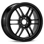 Enkei RPF1 Black Paint 15x7 35MM Offset 4x100 Bolt Pattern 73MM Hub Bore