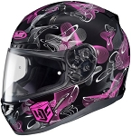 HJC CL-17 Full Face Ladies M2015 Graphic Helmet - Mystic