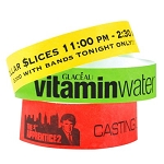 Custom Printed Tyvek Wristbands with your logo!
