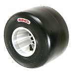 MG Tires HZ Red Compound SCCA Junior Kart Racing Tire (FJA, FJB)