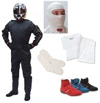 Pyrotect Driver Protection Package - 1 Piece Single Layer Suit
