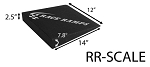Race Ramps - RR-SCALE 2.5inch scale ramps (set of 4)