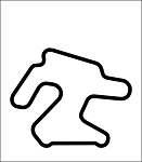 Chuckwalla Metal Track Map Wall Art