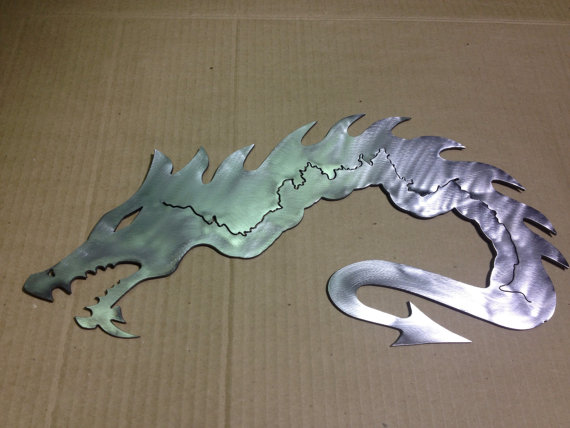 tail of the dragon us 129 metal wall art image coming soon