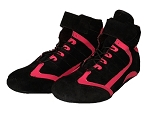 SPS Ladies Driver's Shoe - Pink/Black SFI Approved