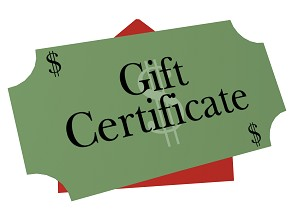 $15 Rewards Points Gift Certificate