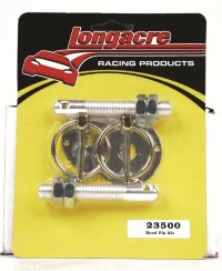 "Longacre Part Number 23500: Aluminum Hood Pin Kit 1/2""-20 (2)"