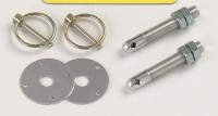 "Longacre Part Number 23600: Steel Hood Pin Kit 3/8""-24 (2)"