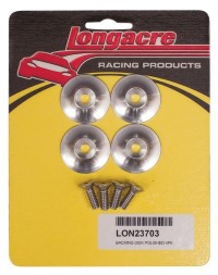 Longacre Part Number 23703: Backing Disck for Spiler Support Polished (4)