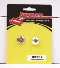 Longacre Part Number 32707: Holley Carb Split Bushings Aluminum