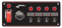 Longacre Part Number 44869: Black Ign / Start w/6 Acc, Flip, Pilot Lights