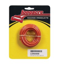 Longacre Part Number 44958: Orange 16 Gauge High Insulation Wire 15'