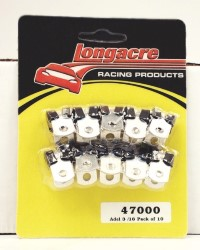 "Longacre Part Number 47000: Adel 3/16"" Pack of 10"