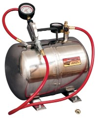 Longacre Part Number 50315: Lightweight 5 Gallon Air Tank 0-60 PSI Analog Gauge