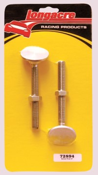 "Longacre Part Number 72894: 4"" Swivel Feet (2)"