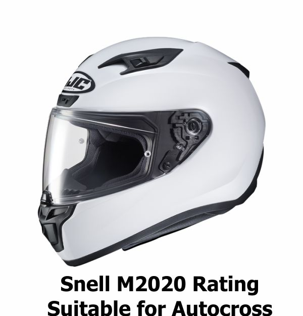 Snell M2020 Rated Autocross Helmets