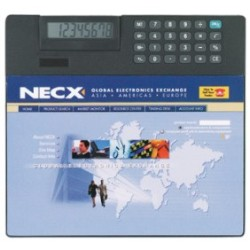 Custom 4 Color Printed Mouse Pad with Calculator