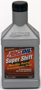 AMSOIL Super Shift Racing Transmission Fluid SAE 10W