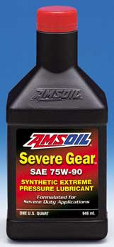 Amsoil Severe Gear 75w 90 >> Amsoil Severe Gear Synthetic Extreme Pressure Ep Gear Lube