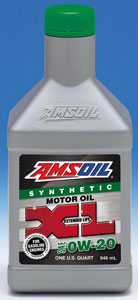 Amsoil Extended Life 100% Synthetic Motor Oil