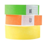 Tyvek Wristbands in your choice of colors