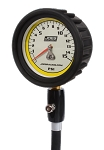 Joes Racing Pro Tire Gauge, 0-15psi with hold valve - 32325