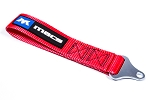 Mac's Tie Downs Soft Loop Tow Strap Bolt On Red
