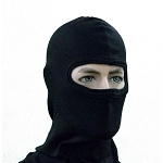 Pyrotect Single Layer Head Sock/Balaclava Black