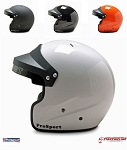 Pyrotect Open Face ProSport SA2015 Helmet for SCCA Track Night or Starting Line