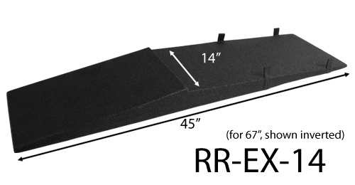 Race Ramps - RR-EX-14 XTenders for 67 Inch Race Ramps (Set of 2)