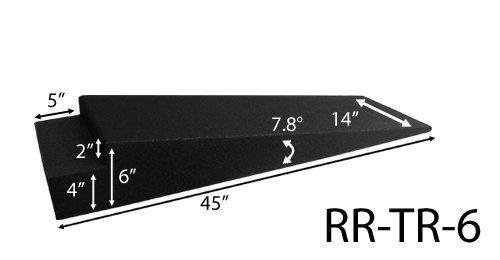 RaceRamps - RR-TR-6  6 inch Trailer Ramp Set (Set of 2)