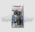 Retail Pack  1 Per  SJ-DXTML-10X  Steinjager M10 x 1.50 LH x 10mm bore  4130 Chrome Moly Spherical Rod End Bearing  Bright Chrome FinishThis rod end features an extra long shank - ideal for sway bar end links.