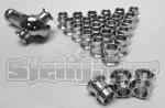24 Pack  HMBZC-16-10  High Misalignment Insert  Plated Steel  1 inch  x 5/8