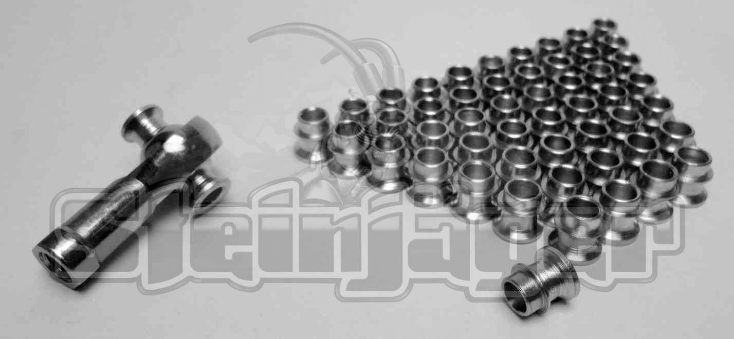 50 Pack  HMBSS-6-5  High Misalignment Insert  Stainless  3/8 x 5/16