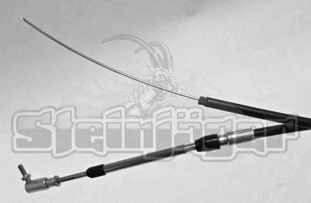 Push-Pull 1//4-28 144 Inches Long Grooved Style Steinjager Shifter Cables