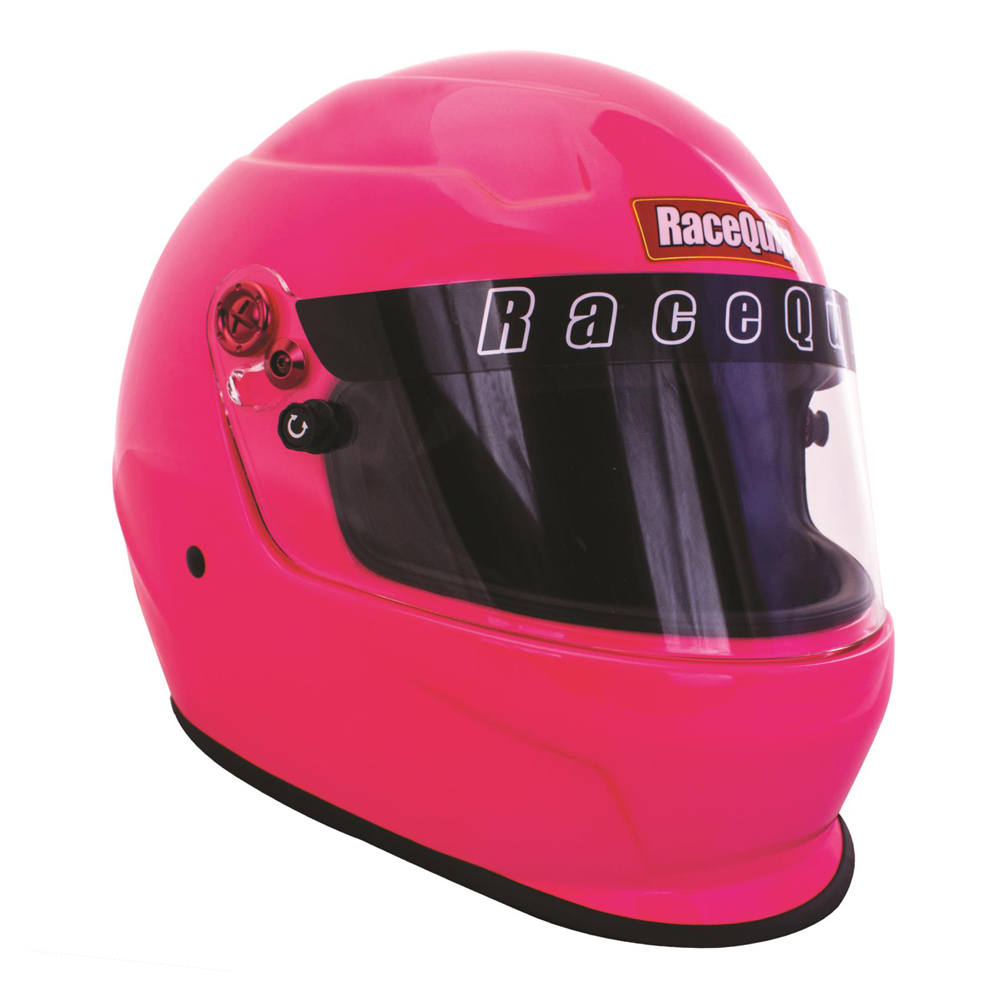 RaceQuip Open Face Helmet OF20 Series Snell SA-2020 Rated Gloss Black 2X-Large 256007