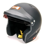 Racequip OF20 SA2020 Snell Rated Open Face Helmet - Gloss Black