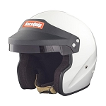 Racequip OF20 SA2020 Snell Rated Open Face Helmet - White