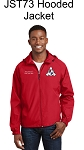 Cincinnati Region SCCA Full Zip Jacket with Hood
