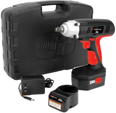 Performance Tool 24V Cordless Impact w/ One Battery