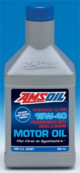 Amsoil Synthetic Heavy-Duty Diesel & Marine Motor Oil SAE 15W-40 (AME)