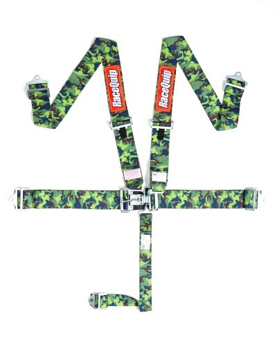 Camo Racequip SFI Latch and Link 5 Point Harness