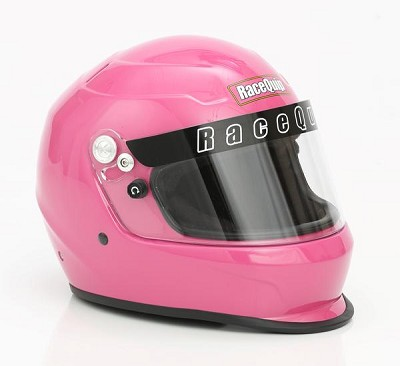 RaceQuip PRO15 Snell SA 2015 Pink Ladies Full Face Racing Helmet